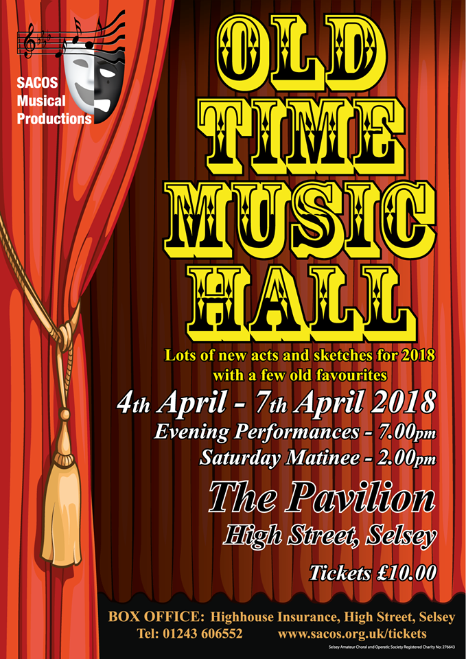 Old Time Music Hall - 2018